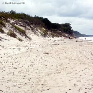 Plaża w Dębinie