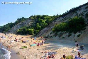 Chłapowo plaża